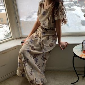 Vintage 'Jaclyn Smith classic' floral dress